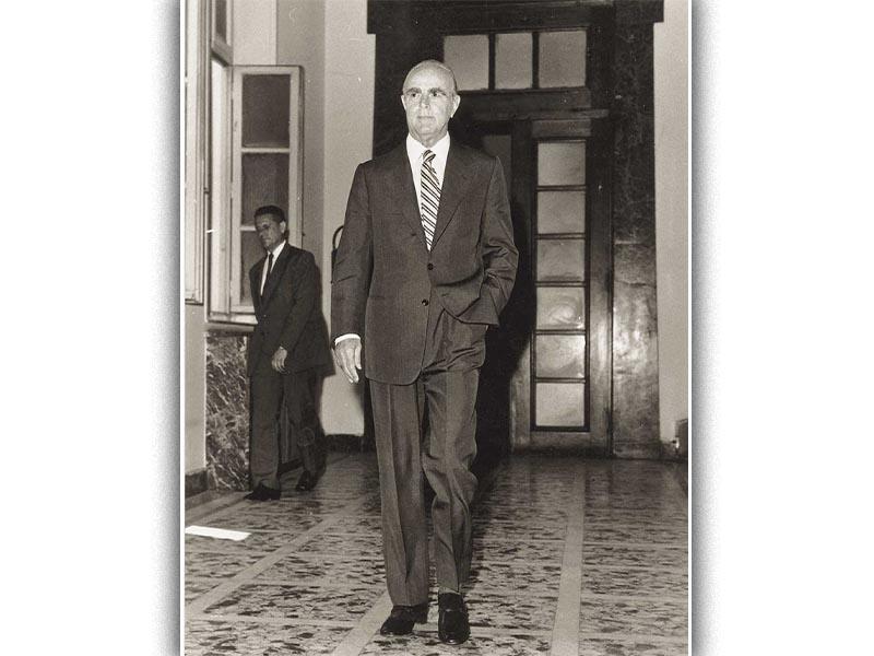 Ο Κ. Καραμανλής