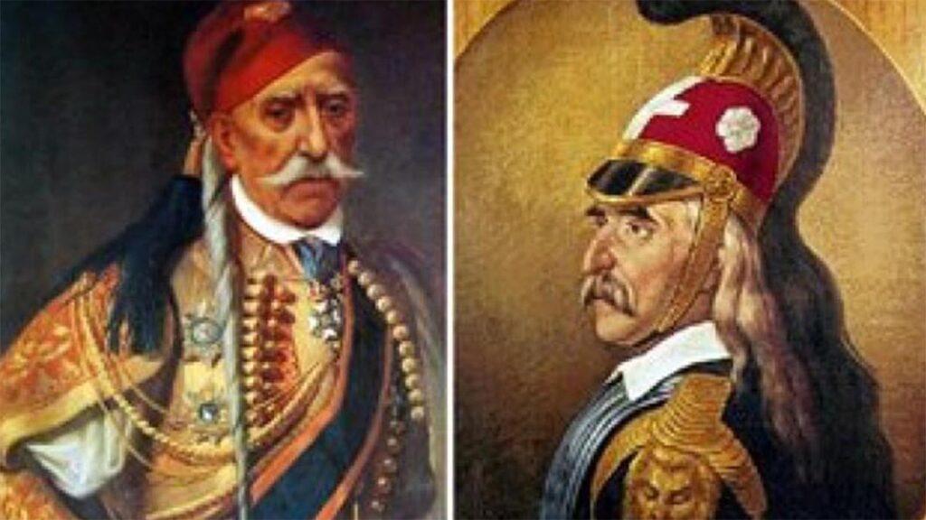 Ελληνική Επανάσταση 1821 - Θεόδωρος Κολοκοτρώνης - Πλαπούτας