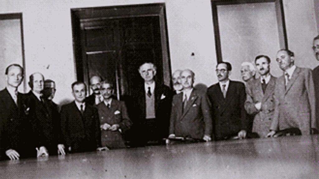 Τα μέλη της Κυβέρνησης «Εθνικής Ενότητας»