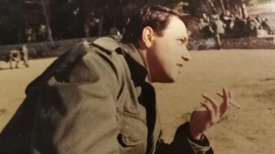 Νάσος Μωραΐτης Στρατιώτης (ΜΗΧ) 1988 / Προσωπικό Αρχείο