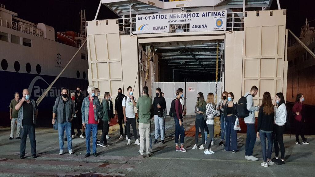 Λιμάνι Πειραιά - 24ωρη Απεργία Ναυτεργατών 24/9/2020