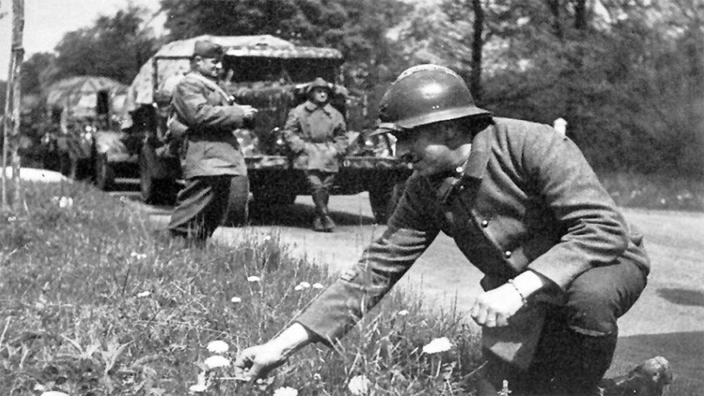 Γάλλοι στρατιώτες στα σύνορα με την Ναζιστική Γερμανία