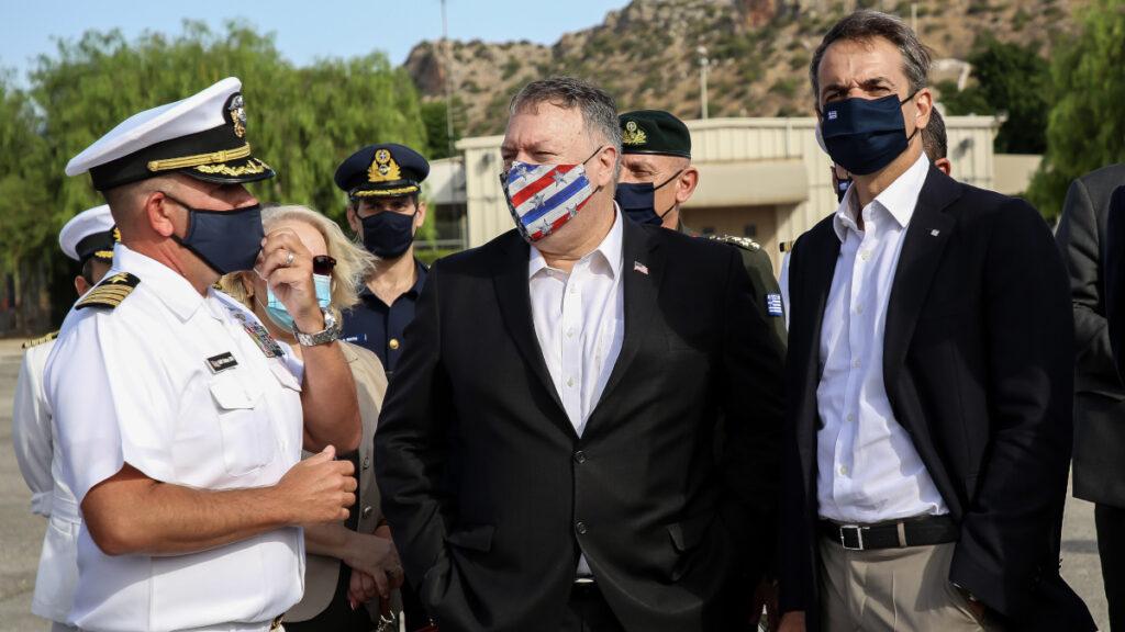 Επίσκεψη Μ. Πομπέο, Υπουργού Εξωτερικών ΗΠΑ και Κ. Μητσοτάκη, Πρωθυπουργού Ελλάδας στη Σούδα - 29/9/202