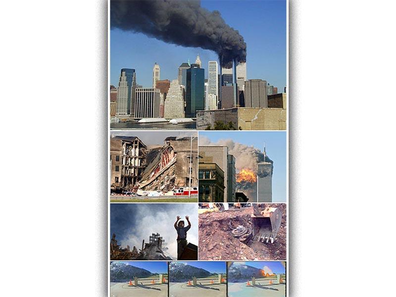 Στιγμιότυπα από την επίθεση στους δίδυμους πύργους το 2001