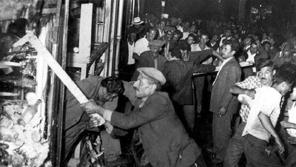 Από το πογκρόμ του 1955 στην Κωνσταντινούπολη