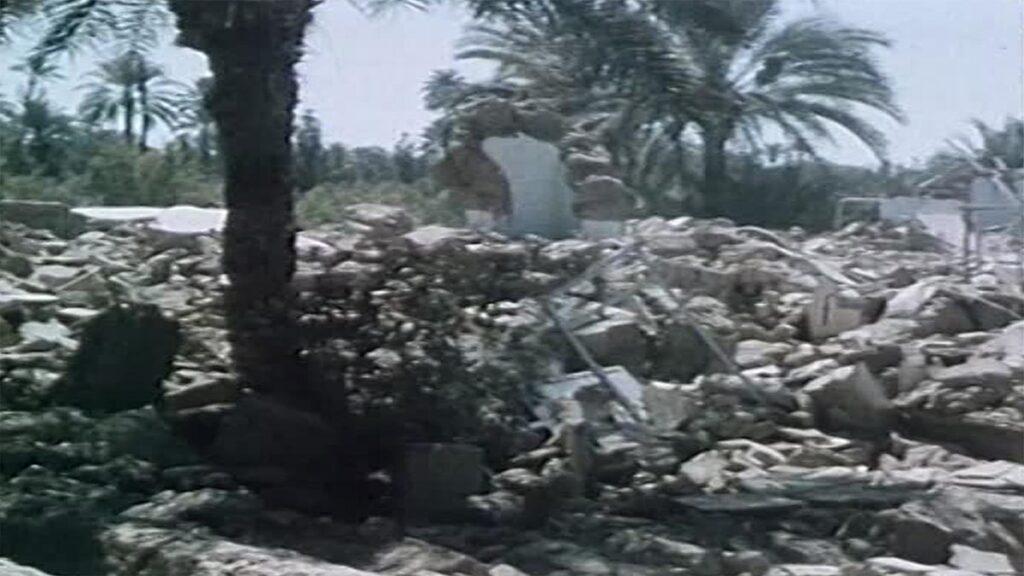 Ερείπια από τον σεισμό στο Βορειοανατολικό Ιράν