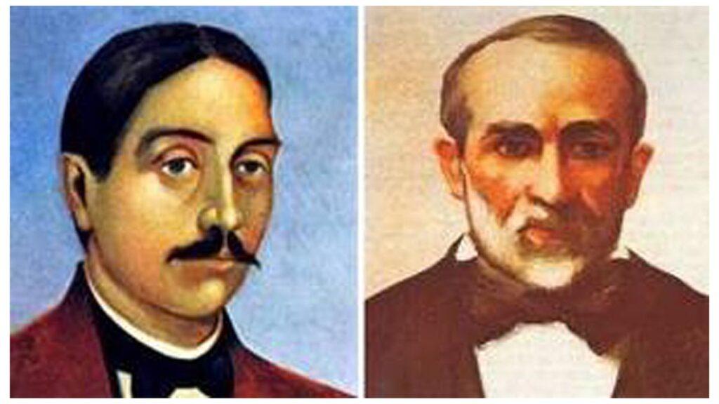 Οι Γ. Τερτσέτης (δεξιά) και Α. Πολυζωΐδης (αριστερά)