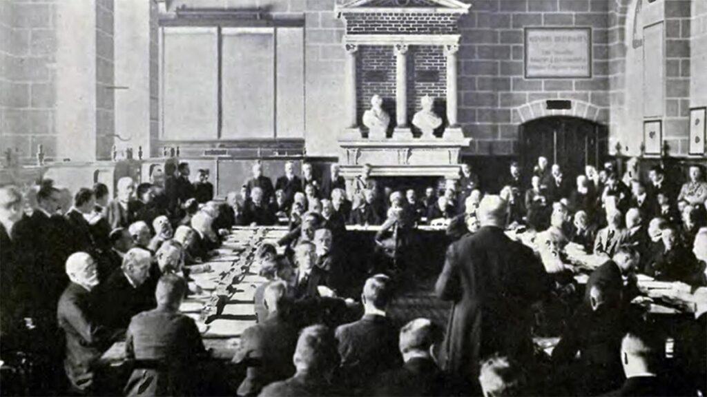 Η Σύνοδος που οδήγησε στην Συνθήκη του Αγ. Γερμανού to 1919