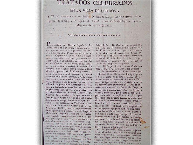 Η διακήρυξη της ανεξαρτησίας του Μεξικό