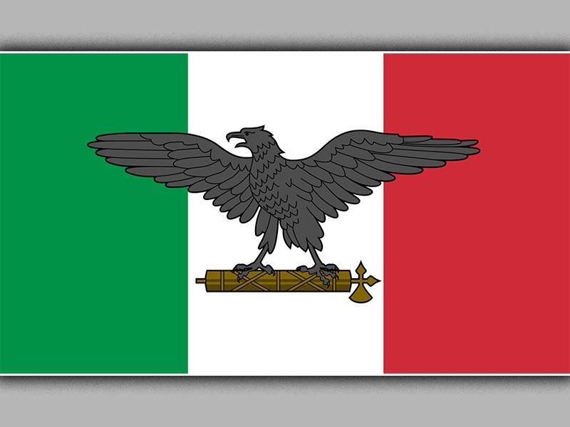 Η σημαία της «Δημοκρατίας του Σάλο»
