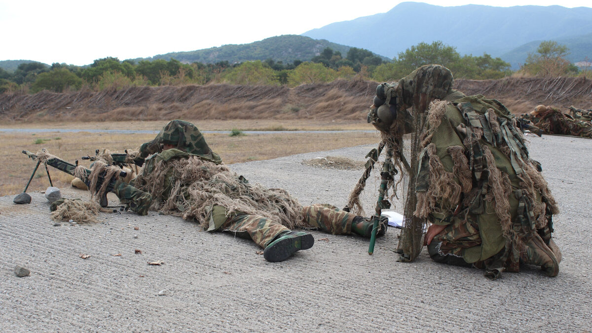 άσκηση στρατός
