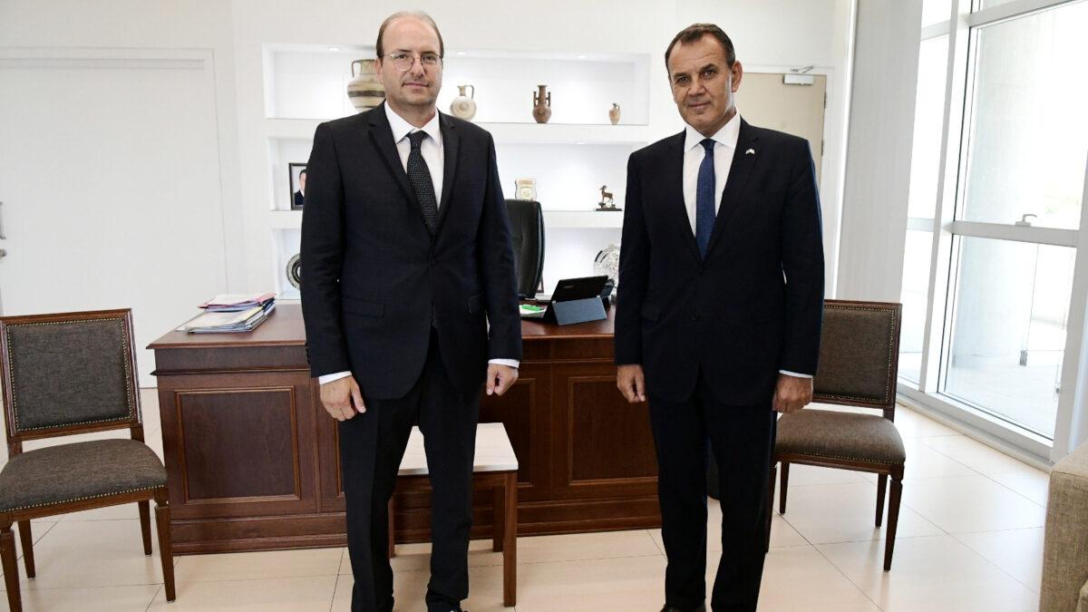 Επίσκεψη του Υπ. Άμυνας Νίκου Παναγιωτόπουλου στην Κύπρο με αφορμή την 46η επέτειο της τουρκικής εισβολής