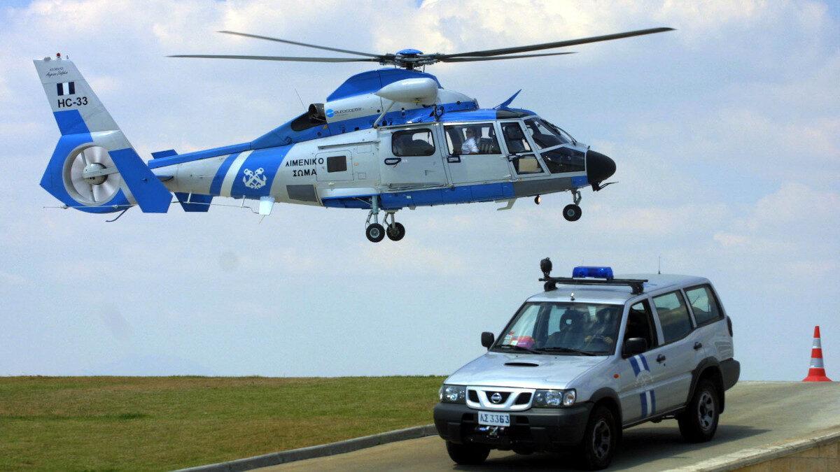 Ελικόπτερο του Λιμενικού Σώματος - Ελληνικής Ακτοφυλακής - Aegean Dauphin