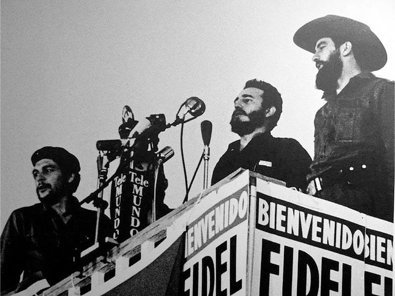 Κούβα - Επανάσταση - Τσε Γκεβάρα - Φιντέλ Κάστρο - Καμίλο Σιενφουέγος