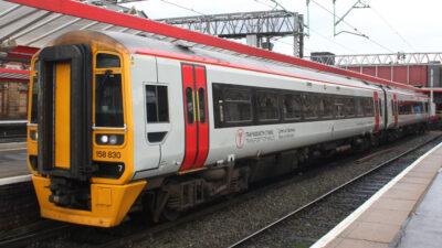 Αμαξοστοιχία Σιδηροδρόμων Ουαλίας - Μ. Βρετανία