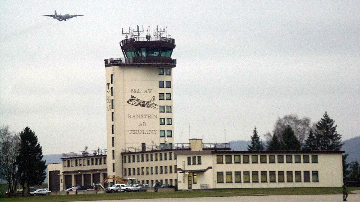 αεροπορική βάση του ΝΑΤΟ στη Γερμανία