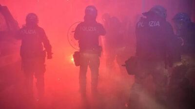 ιταλία διαδηλώσεις κατά των περιοριστικών μέτρων