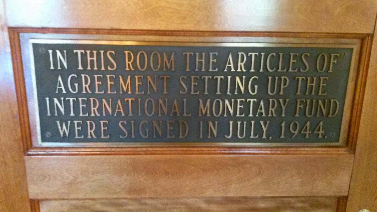 Διεθνές Νομισματικό Ταμείο - IMF