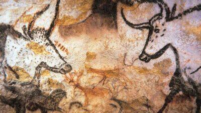 Προϊστορική βραχογραφία στο σπήλαιο του Λασώ, στη Γαλλία