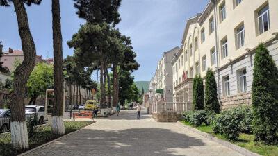Λεωφόρος των Μαχητών της Ελευθερίας, Στεπάνακερτ, Ναγκόρνο-Καραμπαχ