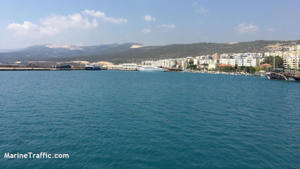 Λιμάνι Tasucu στη Σελεύκια της Τουρκίας