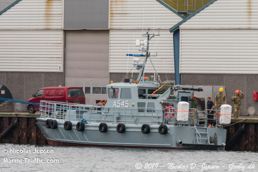 Δανία - Frontex - Περιπολικό σκάφος της δανέζικης Ακτοφυλακής που περιπολεί στο ανατολικό Αιγαίο (Δωδεκάνησα) ενταγμένο στην δύναμη της FRONTEX