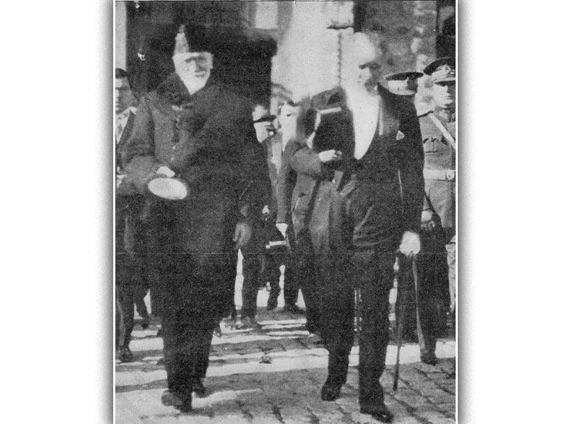 Ο Ελευθέριος Βενιζέλος και ο Κεμάλ Ατατούρκ