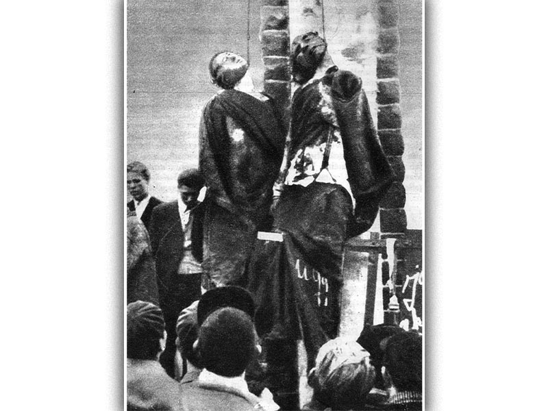 Δολοφονημένοι κομμουνιστές στην Βουδαπέστη κατά την διάρκεια της αντεπανάστασης το 1956