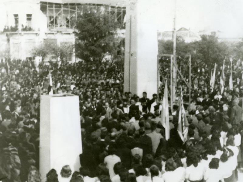 Από την απελευθέρωση της Λάρισας το 1944