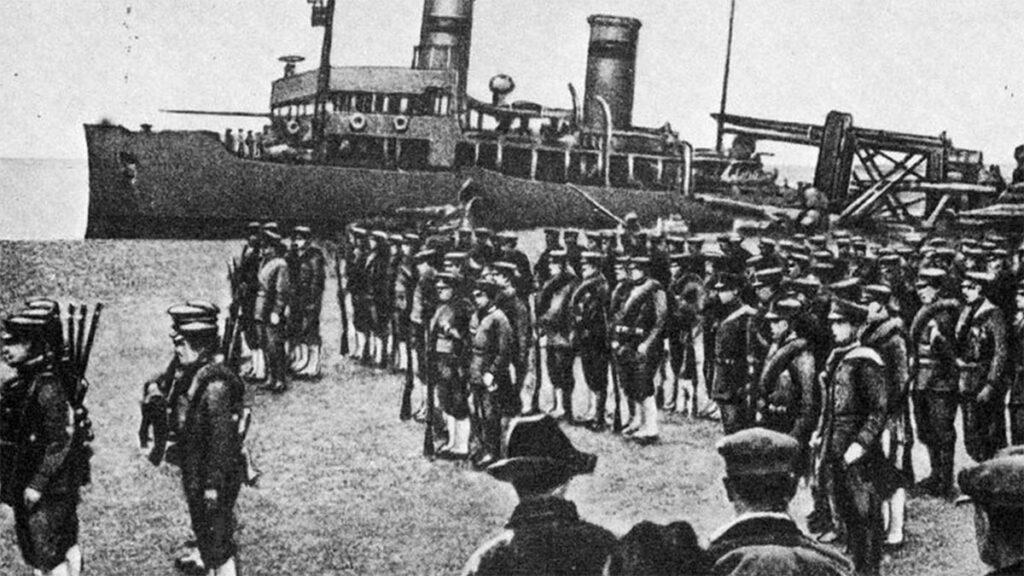 Ιαπωνικά στρατεύματα στο Βλαδιβοστόκ το 1918