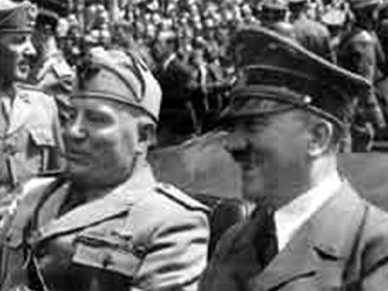 Χίτλερ - Μουσολίνι