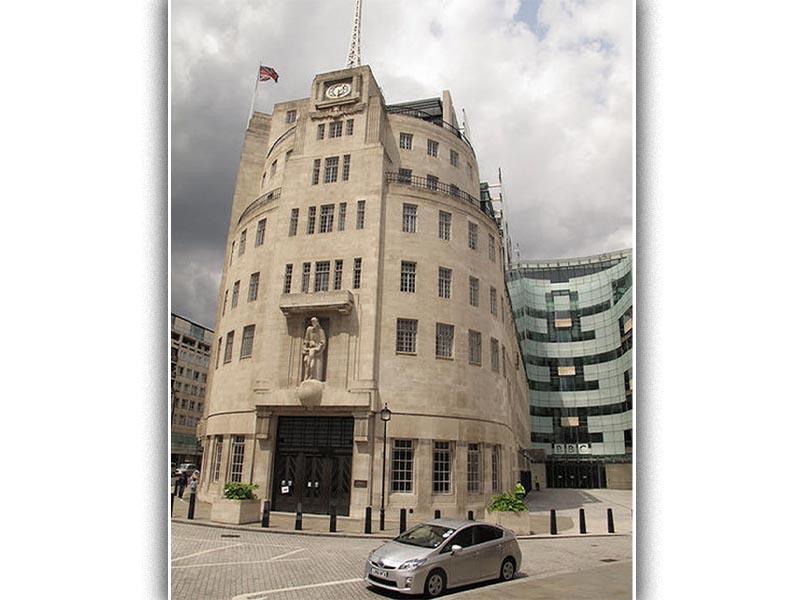 Η έδρα του BBC