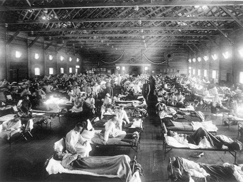 Υγεία - πανδημία - Ισπανική γρίπη