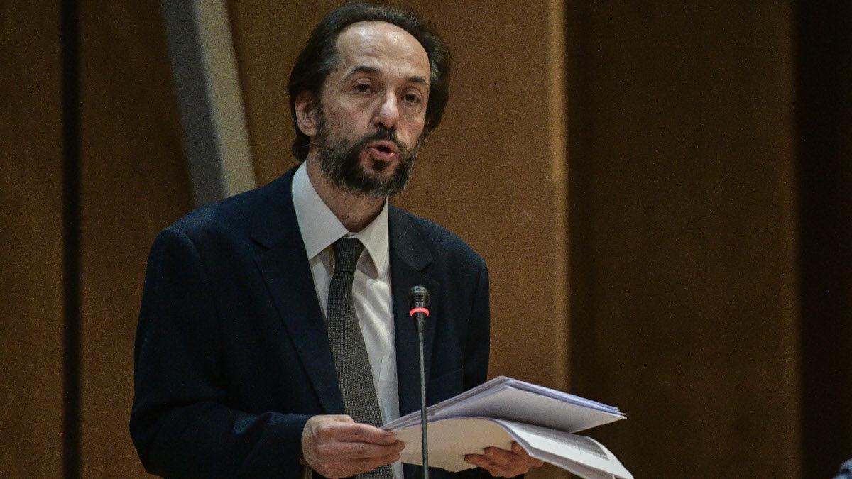 Αντώνης Αντανασιώτη, συνήγορος Πολιτικής Αγωγής των κομμουνιστών και συνδικαλιστών του ΠΑΜΕ, υπεύθυνο του Τμήματος Δικαιοσύνης και Λαϊκών Ελευθεριών της ΚΕ του ΚΚΕ