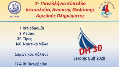 ΣΕΑΝΑΤΚ - Ιστιοπλοΐα Ανοιχτής Θαλάσσης Διμελούς Πληρώματος