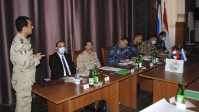 Σύσκεψη στο Νοβοροσίσκ Αιγυπτίων και Ρώσων επιτελών για την προετοιμασία της συμμετοχής του Αιγυπτιακού Ναυτικού στην Ναυτική Άσκηση «Γέφυρα Φιλίας 2020» του Ρωσικού Ναυτικού στη Μαύρη Θάλασσα