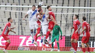 UEFA NATIONS LEAGUE / Ελλάδα - Μολδαβία ποδόσφαιρο