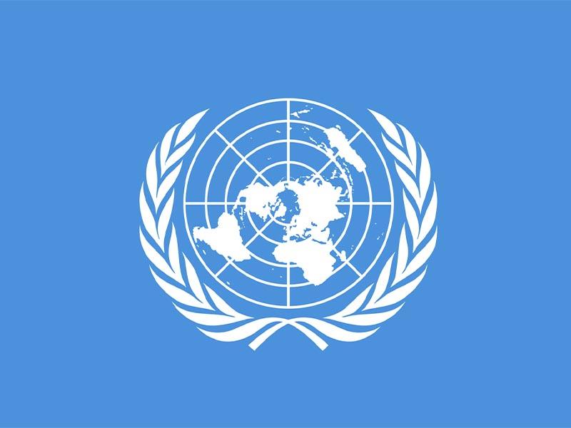 Η σημαία του ΟΗΕ