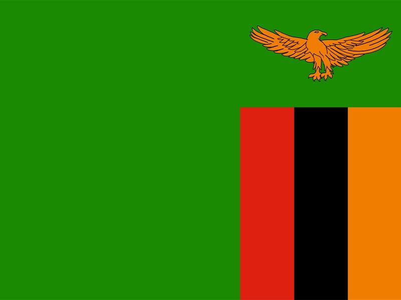 Η σημαία της Δημοκρατίας της Ζάμπια