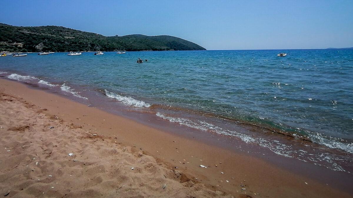 Παραλία στην περιοχή της Φοινικούντας, Μεσσηνία