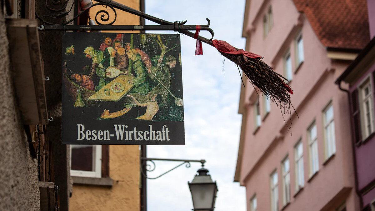 Τυπική Γερμανική Μπυραρία - Τούμπινγγεν, Γερμανία