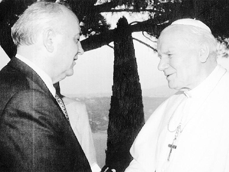 Ιωάννης - Παύλος ο 2ος και Γκορματσώφ