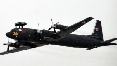 Αναβαθμισμένο Ιλιούσιν 38 (IL38) του Ρωσικού Στόλου του Ειρηνικού