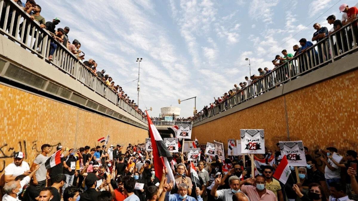 Αντικυβερνητικές διαδηλώσεις στην πρωτεύουσα του Ιράκ