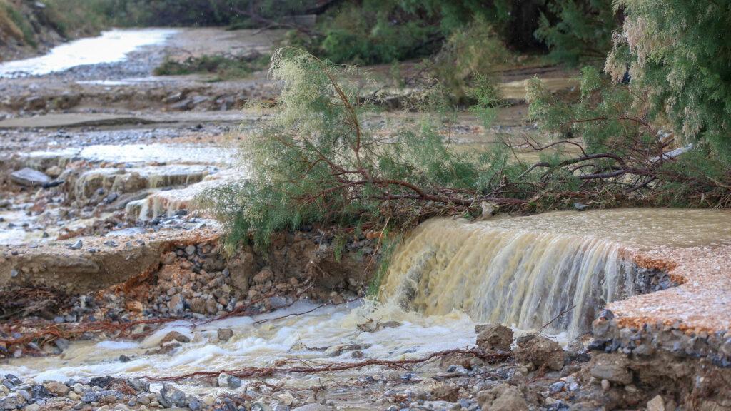 Κρήτη - Καταστροφικές πλημμύρες στην περιοχή Καρτερός, Ηρακλείου / 21/10/2020