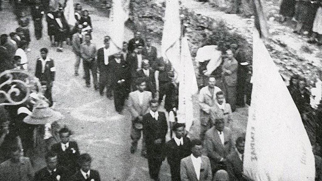 Κηδεία των νεκρών της Ηλεκτρικής