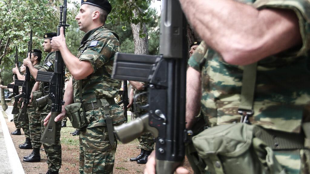 Κομοτηνή - Στρατιώτες αποδίδουν τιμές - Ηρώο της πόλης