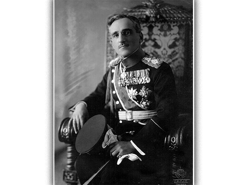 O βασιλιάς της Γιουγκοσλαβίας Αλέξανδρος ο Α'