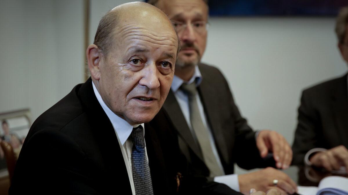 Υπουργός Εξωτερικών και Ευρωπαϊκών Υποθέσεων της Γαλλίας, Jean-Yves Le Drian από παλιότερη επίσκεψή του στην Ελλάδα / Πέμπτη 6 Σεπτεμβρίου 2018