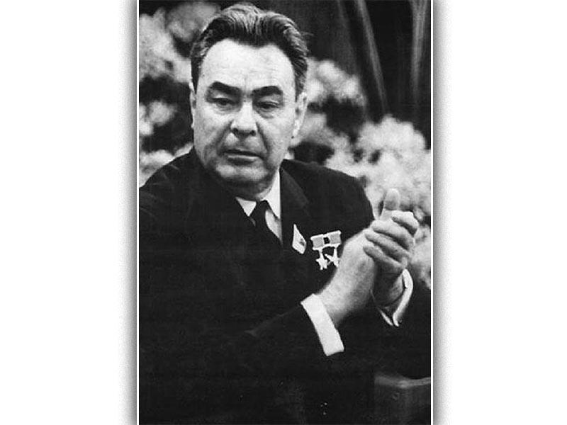 Ο Λεονίντ Μπρέζνιεφ